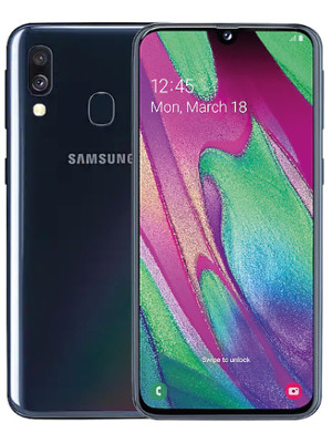 Samsung galaxy a40 4-64gb duos Black