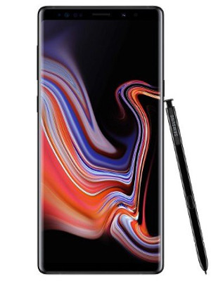 Samsung galaxy note 9 128gb single sim Midnight bl